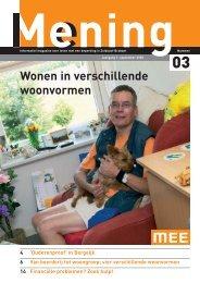 Mening nr 3, sept 2005 - MEE Zuidoost Brabant