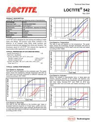 Technical Data Sheet - Loctite
