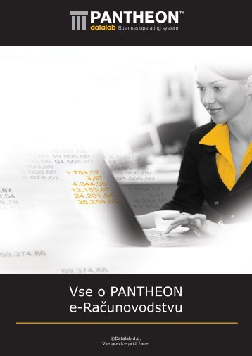 Vse o PANTHEON e-Računovodstvu - Asistent doo