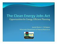 The Clean Energy Jobs Act