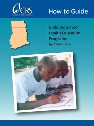2009 – Catholic Relief Services – How-to Guide - Basic Education ...