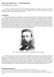 John Louis Emil Dreyer – A Short Biography