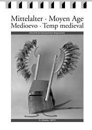 12. Jahrgang – 2007/4 Zeitschrift des Schweizerischen Burgenvereins