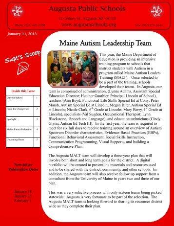 News & Events - City of Augusta, Maine - School Department