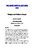 Religion and Politics in Kenya - Henry Martyn Centre - Page 2