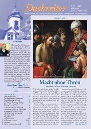 dachreiter 1/2011 (pdf) - livestream: gottesdienst in königsfeld