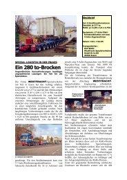 Estelit GmbH - Westfracht Spezialverkehre International GmbH
