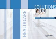 Solutions for Healthcare - LANCOM Systems GmbH