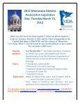 January 2012 Newsletter - Minnesota Academy of Nutrition and ... - Page 4