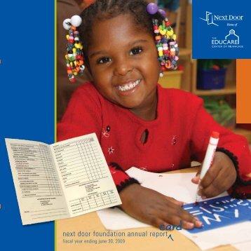 next door foundation annual report