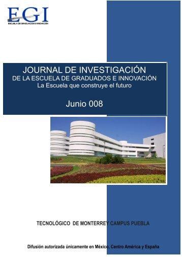 ESCUELA DE GRADUADOS E INNOVACION - Puebla