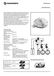 Norgren BD-AV Series Aspirating Valves Datasheet.pdf - IMI Cornelius