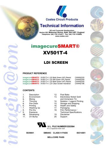 imagecureSMART® XV501T-4 - Coates Screen
