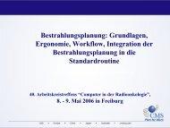 Grundlagen, Ergonomie, Workflow, Integration - K1 Computer in der ...