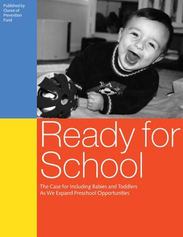Ready for School - Ounce of Prevention Fund
