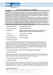 Fax message: - United Nations Volunteers