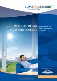 Climaplus Relax 2seiter_k.indd - Eckelt Glas GmbH