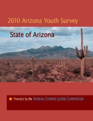 2010 Arizona Youth Survey - Arizona Attorney General