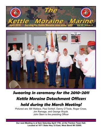 april newsletter.qxd - Kettle Moraine Detachment