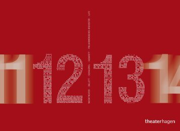 Spielzeitheft 2012|2013 als Download [pdf] - Theater Hagen