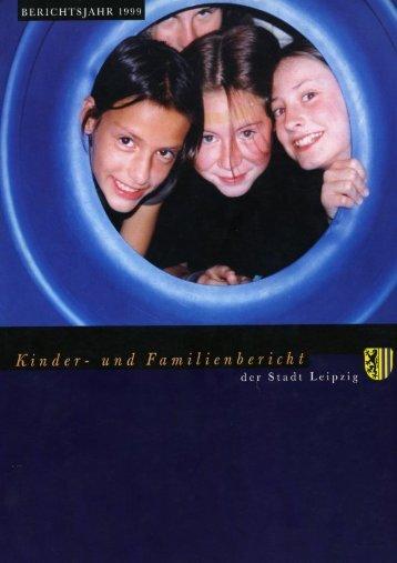 Kinder- und Familienbericht der Stadt Leipzig
