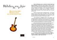 Sélection autour des romans Rock'n'Roll - Médiathèques de la ville ...