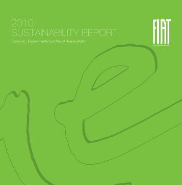 2010 sustainability REPORt - Fiat Group Automobiles Hellas