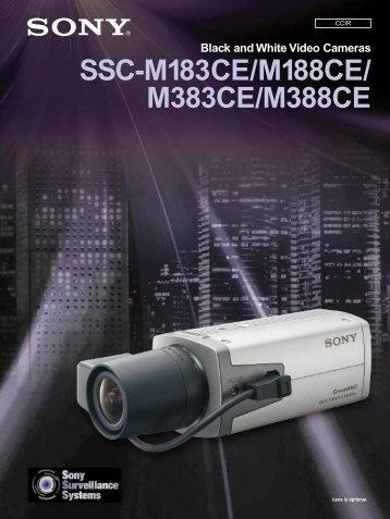 SSC-M183CE/M188CE/ M383CE/M388CE - Sony Asia Pacific