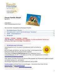 Forum Familie Aktuell - Land Salzburg