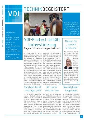 Technik Begeistert - (VDI) Berlin-Brandenburg