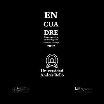 EN CUA DRE Seminarios - Universidad Andrés Bello
