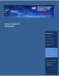 Delegates Information Package - ICAO