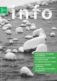 info Nr. 122 - Schweizerische Polyarthritiker Vereinigung