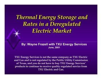 624KB PDF - TC 6.9, Thermal Storage
