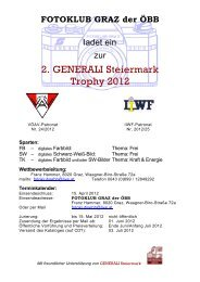 2. GENERALI Steiermark Trophy 2012 - Karl Vock