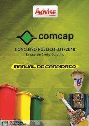 Edital do Concurso Público - COMCAP - atualizado em ... - Advise