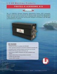 Aviation Recorders pRotec-A AiRboRne Ais L-3 AR Maritime ...