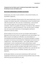 Lezing: Hoe geeft ExxonMobil invulling aan MVO? - Duurzaam ...