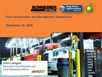 Fuel Conservation and Management Symposium September 22 ...