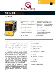 Model 2280A H2S Gas Monitor - Simark Controls