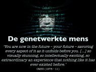'De genetwerkte mens' (Justus Sturkenboom) (.pdf 33.2MB)