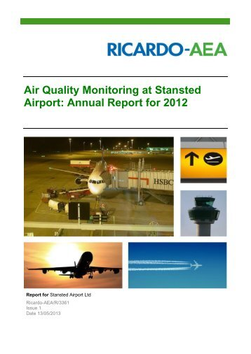Download our 2012 report - London Stansted Airport