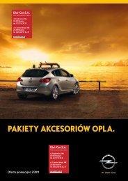 Akcesoria Opel: Promocyjne pakiety akcesoriów ... - Opel Dixi-Car