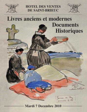 Télécharger le catalogue complet (pdf) - Saint-Brieuc enchères