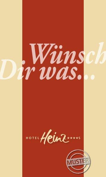 Gutschein-Nummer - Hotel Heinz