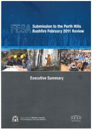 Inquiry - Perth Hills Bushfire 2011 - Submissions 73 part 1