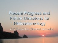 Recent Progress and Future Directions for Helioseismology