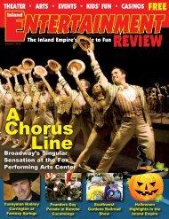 A Chorus Line - Inland Entertainment Review Magazine