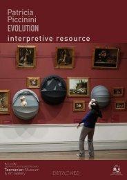 Patricia Piccinini Evolution : interpretive resource - Art Gallery of ...