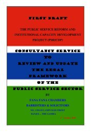 first draft first draft the public service reform and institutional capacity ...